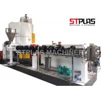 One Step Direct Process Plastic Film Recycling Machine / Scrap Die Face Pelletizer Manufactures