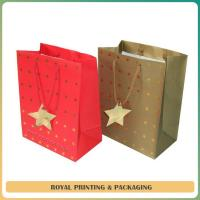 customize colorful paper gift bag printing