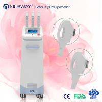 Big spot IPL+Elight+ RF +Laser Multifunctional three handles laser hair removal machine Manufactures