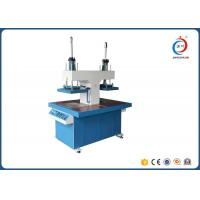 Quality Hydraulic T-shirt Embossing Machine / Silicone Jersey Label Dispenser Machine for sale