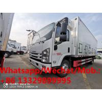 China NEW manufactured ISUZU 6 Wheels 190hp diesel 25,000-30,000 day old chicks truck for sale, baby poultry van truck on sale