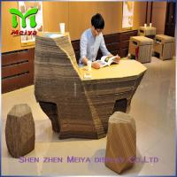 Supermarket Recycled Cardboard Furniture , cardboard office furniture couch Manufactures