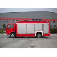 Operating Warning Light Fire And Rescue Trucks Max Speed 95km/H With Air Compressor Manufactures