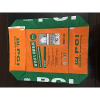Custom Printed PP Valve Sealed Bags , Recycled Woven Polypropylene Bags Manufactures