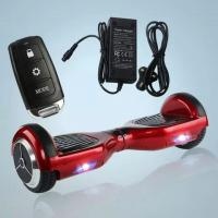 Quality Portable 6.5 inch two wheels electric balancing scooter handle free electric for sale