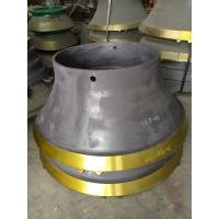 Mantles, Concaves/Bowl liners suit for Sandvik H6800 cone crusher Manufactures