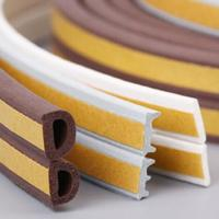 New product oem abrasion resistant soft rubber sponge strip/silicone striping/customize silicone seal Manufactures