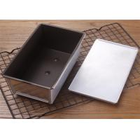 Quality Customized Size Mini Loaf Pan , Nonstick Pullman Bread Loaf Pan Fluted Pan With for sale