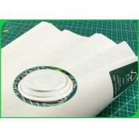 China Paper Plates Material 100G 120G Pure White Kraft Paper Roll Food Grade Certified on sale