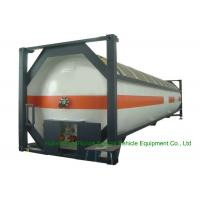 T50 Type 40FT DME LPG ISO Container , LPG Tank Container For Shipping Manufactures