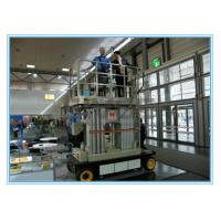 Four Mast Self Propelled Aerial Scissor Lift 10m For Business Decoration Manufactures