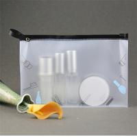 Quality PVC Transparent Makeup Pouch Water Resistant With Stable Performance for sale
