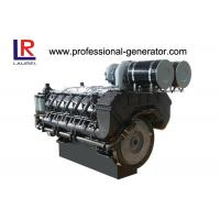 50Hz Air Cooled Single Cylinder Industrial Diesel Engines Direct Injection Vertical Manufactures