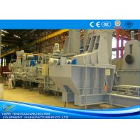 Straight Seam Welded Pipe Mill Steel Pipe Making Machine 1550 Mm Coil Width Manufactures