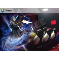 Multiplayer Interactive 7D Cinema System Guns Shooting Games Crazy 7D Movie Theater Manufactures