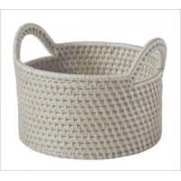 Nature Fancy bamboo basket for picnic with handle Manufactures