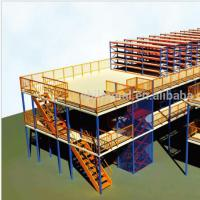 China Hot Steel Warehouse Storage used industrial steel platforms mezzanines on sale