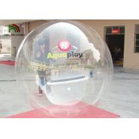 Transparent Inflatable Walk On Water Ball Water Walking Ball 2 m Diameter 0.8mm PVC Manufactures