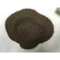 Emery Grinding Powder Abrasive Sand Blasting , Brown Fused Corundum For Grinding Wheels Manufactures