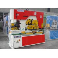 Multi Function Hydraulic Ironworker Machine Stainless Steel Cutting Material Manufactures