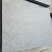 China Granite Dark Grey G654 Granite Floor Tiles Paving Stone Brushed Surface 60x60x1.5cm Manufactures