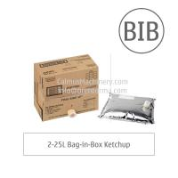 China Fully-automatic BIB Sauce Ketchup Filling Machine Bag in Box Aseptic Filler for sale