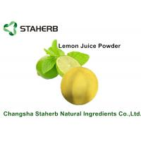 Lemon Juice Powder / Natural Food Additives Anti- Aging And Anti - Hyperpigmentation Manufactures