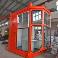Industrial Crane Spare Parts , Standard Size Crane Operator Cabin / Driving Cab Manufactures