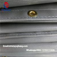 China PVC coated Polyester safety mesh sheet /Japan fire retardant mesh on sale