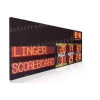 Multi Functions Led Electronic Scoreboard Outdoor Indoor Type 110V ~ 250V Manufactures