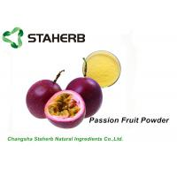Quality Freeze Dried Organic Passion Fruit Powder Full Natural 24 Months Shelf Life for sale