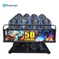 China 6 DOF Movement 5d Cinema Theater 8D / 9D / Xd Cinema Electric System / Hydraulic on sale