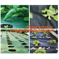 4 foot wide 1x10m/roll landscape anti weed fabric non woven professional organic strawberry weed control fabric BAGEASE Manufactures