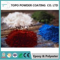 China RAL 1006 Pure Polyester Powder Coating For Aluminum Oxidants Resistance on sale