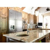 Polished Natural Stone Kitchen Countertops Island Tops With Cut - Out Polished Manufactures