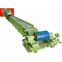 discontinuous aluminum / PU Steel roof sandwich panel roll forming machinery Manufactures
