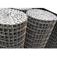 China 304 stainless steel Flat Wire Mesh Belt is particularly breathable on sale