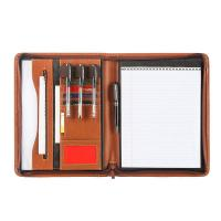 Unisex PU Leather Business Portfolio With Multiple Compartments And Pockets Manufactures
