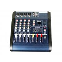 Professional Audio Mixer SD card interface  , 4 channel audio mixer XR400F Manufactures