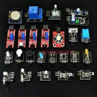 China 24 in 1 Sensor Starter Kit for Arduino Switch Temperature Color Module on sale