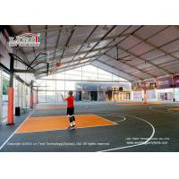 6M Side Height Sport Event Tents  Tear Resistant Self - Cleaning Ability Manufactures