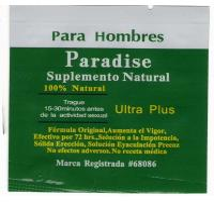 Paradise ultra plus sex Capsules,penis Enlargement Pills,sex pills for men Manufactures