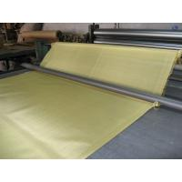 China Wear - Resisting Twill Weave Copper Brass Wire Mesh , ISO9001 filter wire mesh on sale