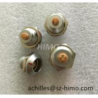 China self-latching 6pin IP68 chrome metal K series push pull lemo watertight connector for sale