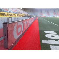 High Definition Football Advertising Stadium Led Display Boards Environment Friendly Manufactures