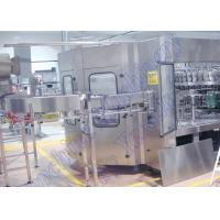 PLC Control Carbonated Drinks Filling Machine / Soft Drink Bottling Machine Manufactures