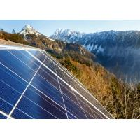 Blue 72 Cell Solar Power Panels , Off Grid Solar Modules Customized Size Manufactures