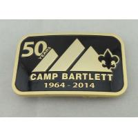 Camp Bartlett Custom Made Buckles Zinc Alloy  With Wiped Imitation Hard Enamel Manufactures
