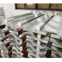 Brushed Anodizing Aluminum Extrusion Profiles Products For Air Conditioner Panel Manufactures