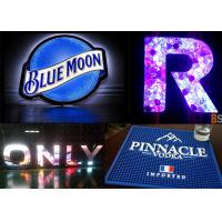 Indoor Full Color Brand Logo LED Display Customized Shape Creative LED Brand Screen Manufactures